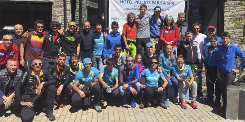Sophie Dusautoir i David Albós, campions d'Andorra
