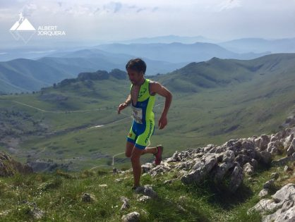 Ferran Teixidó 7è al Vertical Kilometer® World Circuit Zegama 2017