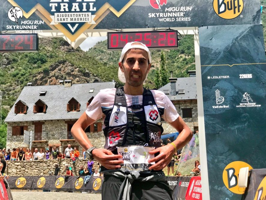 Marc Casal, Top 5 a la Buff Epic Trail Skyrunner© World Series