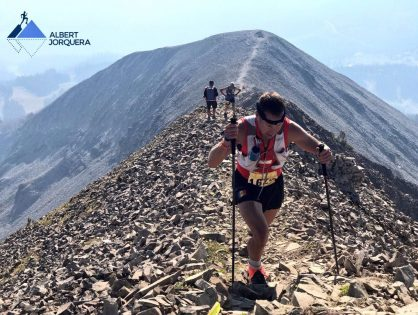 Xavi Teixidó, 11è a la Run the Rut 50k (EUA)