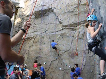 Escaldes-Engordany acull la 3a prova de l'Scarpa  copa d'Andorra d'escalada esportiva 2017