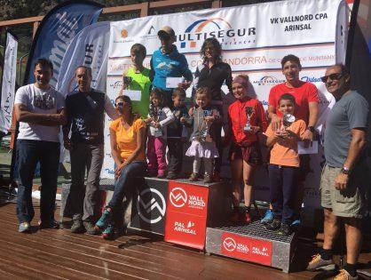MARC CASAL I IMMA PARRILLA CAMPIONS D'ANDORRA