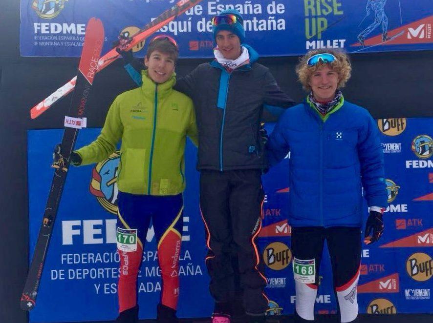 4 PODIS ANDORRANS AL CAMPIONAT D'ESPANYA VERTICAL