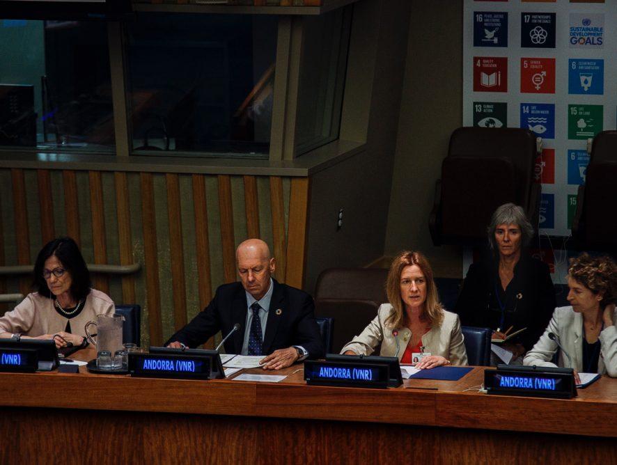 Andorra referma el seu compromís amb el desenvolupament sostenible i aposta per la implicació de tota la societat