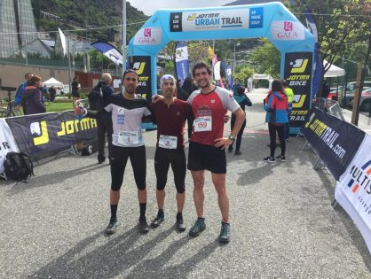 ELS GERMANS CASAL S'IMPOSEN A LA JORMA URBAN TRAIL