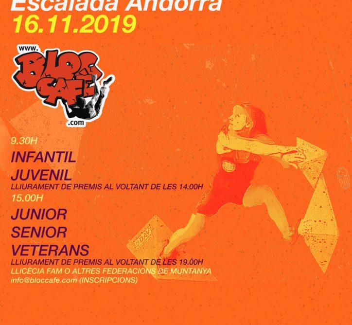 PROVA FINAL DEL CIRCUIT SCARPA D'ESCALADA A ANDORRA
