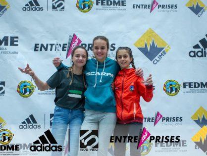 Laia Taulats es proclama campiona de la Classificació General de la Copa d'Espanya d'escalada de dificultat 2019 en la categoria Juvenil Sub 14