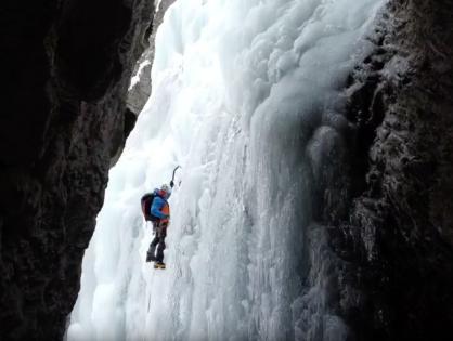 """""""L'ENAA, Equip Nacional de Alpinisme d'Andorra, finalitza el seu primer any de tecnificació amb una estada d'escalada en gel als HAUTES Alpes del 20 al 24 de gener."""""""