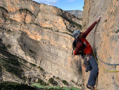 Concentració d'escalada en les diferents parets del Pre-Pirineu, del 10 al 17 d'octubre.  RESUM